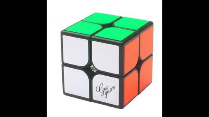 2x2 cube average 7,31; single 6,63 (official solves)