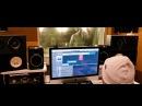 Slim - Backstage со студии (запись куплета) [Рэп Vолна]