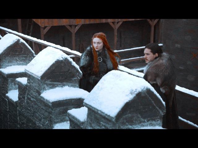 Sansa tells Jon he's good at ruling | Game of Thrones: 7x01 | HD 1080p