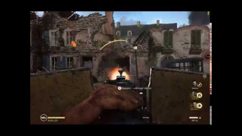 Call of Duty WWII (высокие настройки) на бюджетном ПК / i3 2100 / 8 Gb RAM / GTX 750 (2Gb)