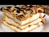 Торт Эклер Простой Заварной Торт-пирожное