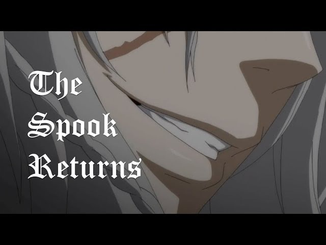 (AMV) Black Butler: Book of the Atlantic - The Spook Returns