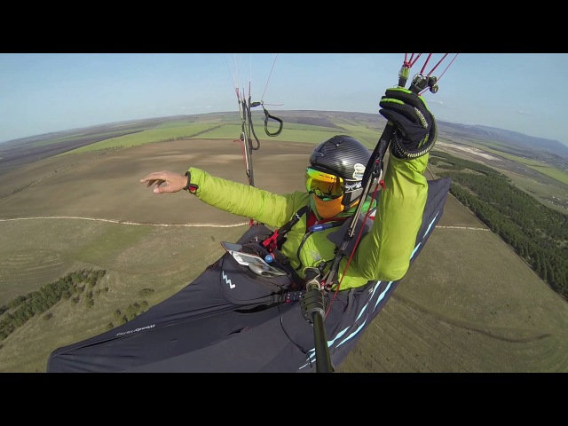 How to fly routes from small hills. part 1. paragliding (обучение параплан Крым)