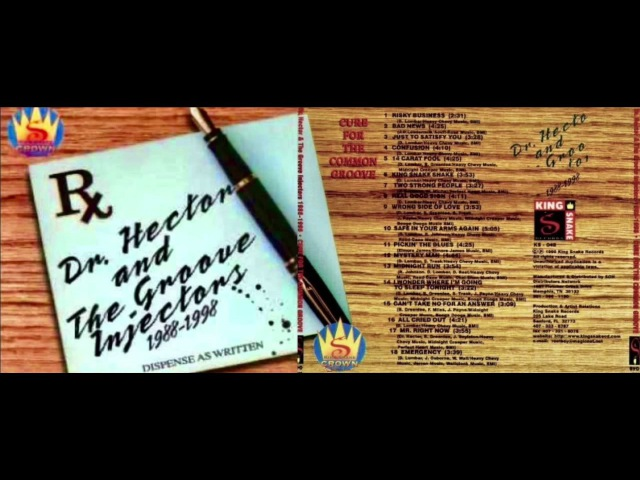 Dr Hector The Groove Injectors - Safe In Your Arms Again