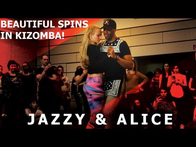 Mika Mendes - So Sexy / Jazzy Alice Urban Kiz Dance Demo @ Frankfurt Festival 2017