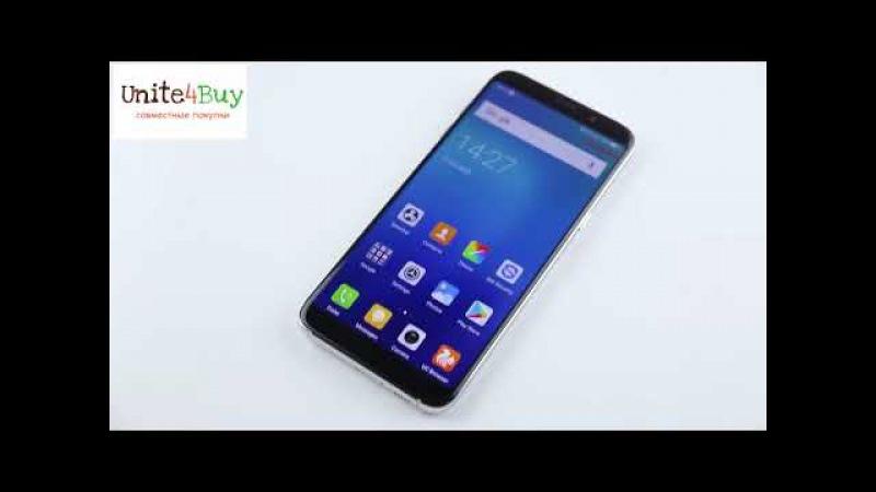 Обзор Bluboo S8 Plus официальная распаковка