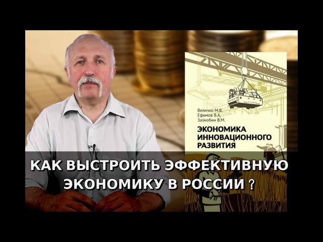 Экономика инновационного развития Михаил Величко