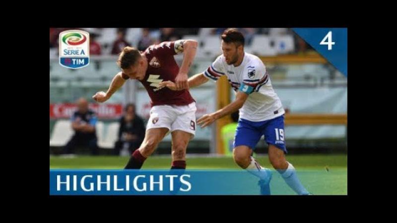 Torino - Sampdoria - 2-2 - Highlights - Giornata 4 - Serie A TIM 2017/18