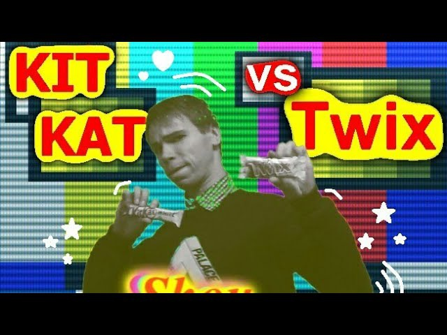Shou РАУНД - TWIX vs. KIT KAT (TWIX чёрный шоколад,TWIX белый шоколад,KITKAT чёрный,KITKAT белый