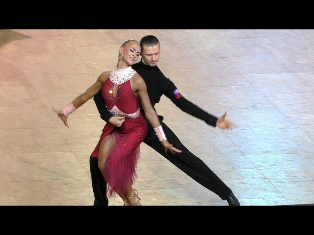 Maxim Elfimov Evgenia Churikova | Rumba | 2017 GrandSlam Latin Moskow - quarter final