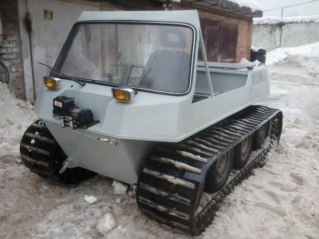 Топ 5 Самодельные вездеходы (Гусеничные Вездеходы Топ 5) / Homemade ATV