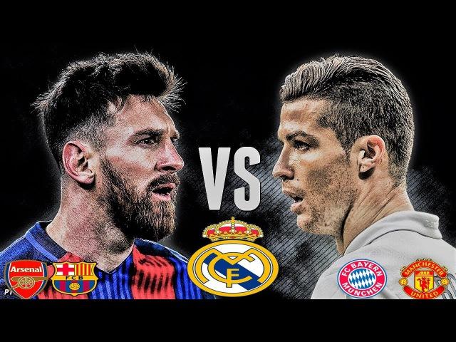 Ronaldo vs Messi. Dunyoning eng qimmat FUTBOL Klublari