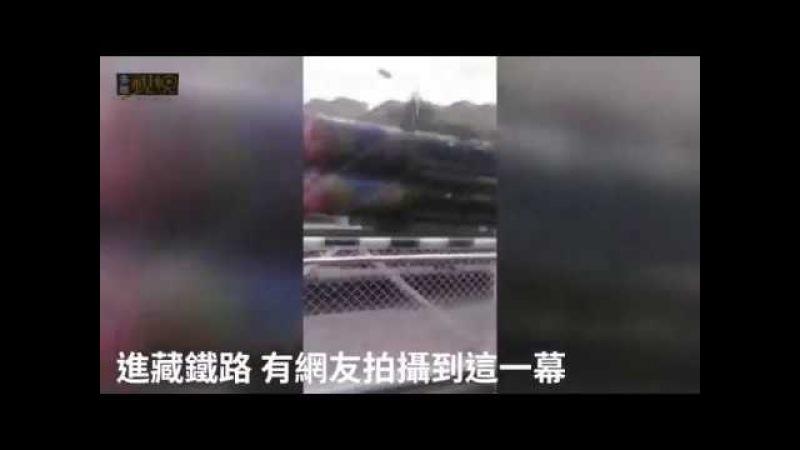Китай: переброска ракет для ЗРК HQ-16 по по Цинхай-Тибетской железной дороге к границе с Индией