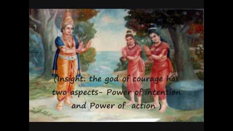 Hymn with English subtitles - Sree Subramanya Astakam - Invoking courage, Lord Murugan
