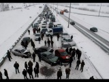 Первый снег, день жестянщика, массовые ДТПFirst snow, road accidents
