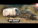 Экстремальная езда по обрыву на Volvo XC90.РП СИТУАЦИЯ В SpinTires MudRunner[60FPS]