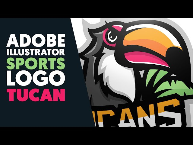 Adobe Illustrator Mascot Sports Logo TUCANS Shard