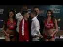 Randy Caballero Diego De La Hoya Heated Faceoff!