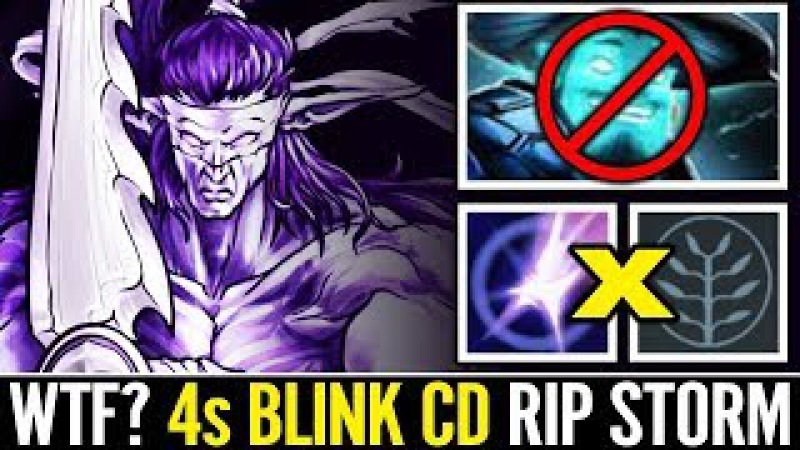 10 Min Fury AM MindControl 4s CD Blink Anti Storm Spirit Dota 2