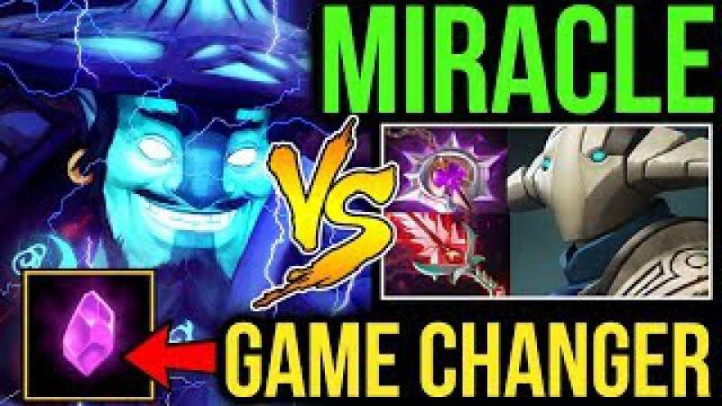 Miracle- [Storm Spirit] vs Super Fat Sven! Arcane Rune the Game Changer Dota2