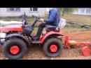 Минитрактор Беларус 152 трактор беларус с плугом в работе