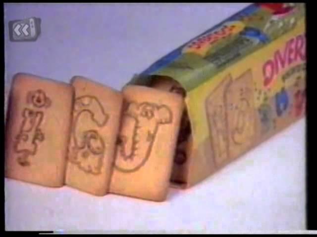 Comercial Biscoito Divertidos - Nestlé (1990)