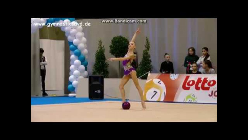 Khrystyna Pohranychna - Ball EF (Happy Cup Ghent) 2017
