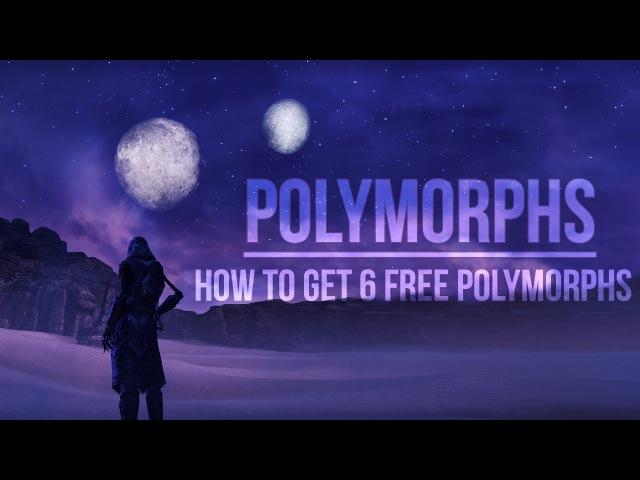 ESO Polymorph Guide - Get 6 FREE Polymorphs in the Elder Scrolls Online