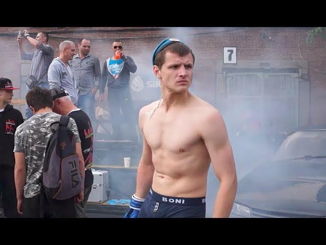 Десантник нарвался на Чемпиона мира боев без правил