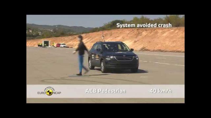 Euro NCAP Crash Test of Skoda Karoq