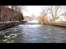 Весенний сброс воды о.Ломпадь