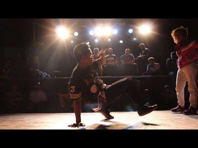 Mouse Victor J VS Roxy Shahi 2 on 2 bboy WBC UK Qulifier 2014
