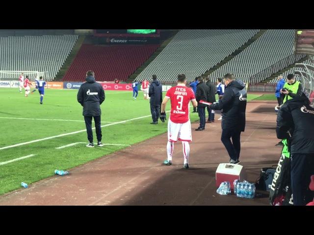 Jovičić sa vratio posle teške povrede