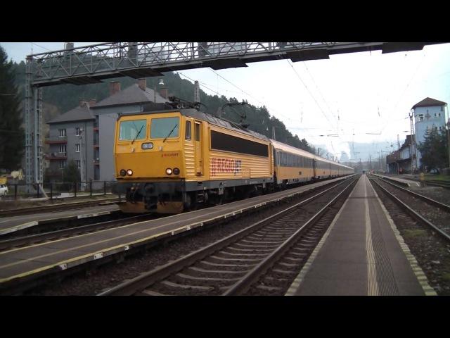 IC 1010 REGIOJET (Košice - Praha) v stanici Ružomberok