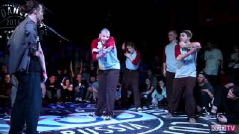 KOD Russia|GFF Loudest Point vs Funkinshtein Poppers |Popping Final|2016KODWORLDCUP