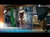 Bravo Models Media - Prague - photo shoots backstages - porn model FLORANE RUSSEL - 06