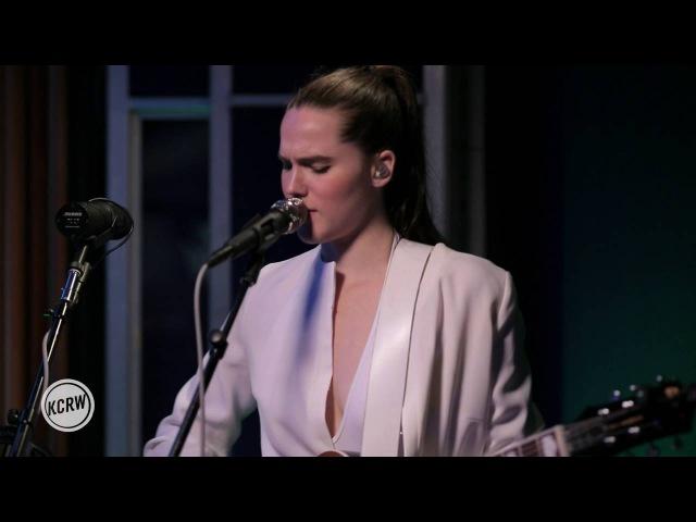Sofi Tukker performing Déjà Vu Affair Live on KCRW