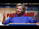 How to Learn English fast and easy-Listen Hillary Speech at American Legion convention with Subtitle