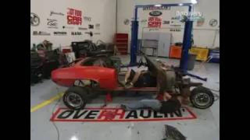 OverHaulin Крутой тюнинг 3 сезон 15 серия Pontiac Firebird 1969