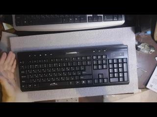 Обзор клавиатуры с мышью oklick 280m