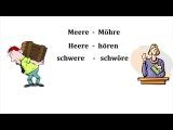 Phonetik Umlaut  - Deutsch A1