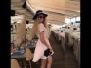 Платье-рубашка из тонкой струящейся ткани персикового цвета 2499₽ Лето