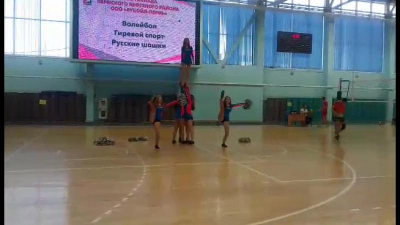 Группа поддержки спортивных команд ПРОДЖЕКТ