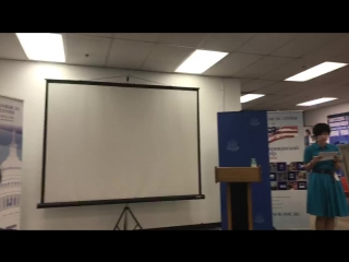 """Lecture """"The American Democratic System: Separation of Powers and the Electoral System"""""""