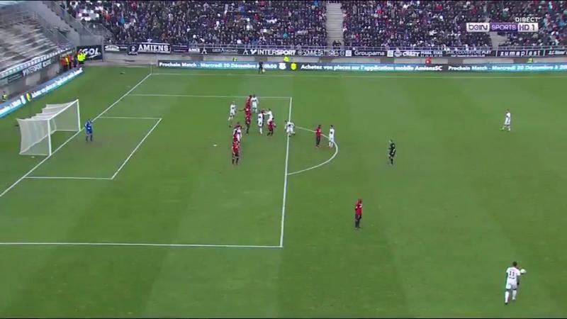 Amiens 1-2 Lyon