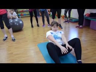 Фитнес клуб А-спорт март 2017 зал групповых занятий