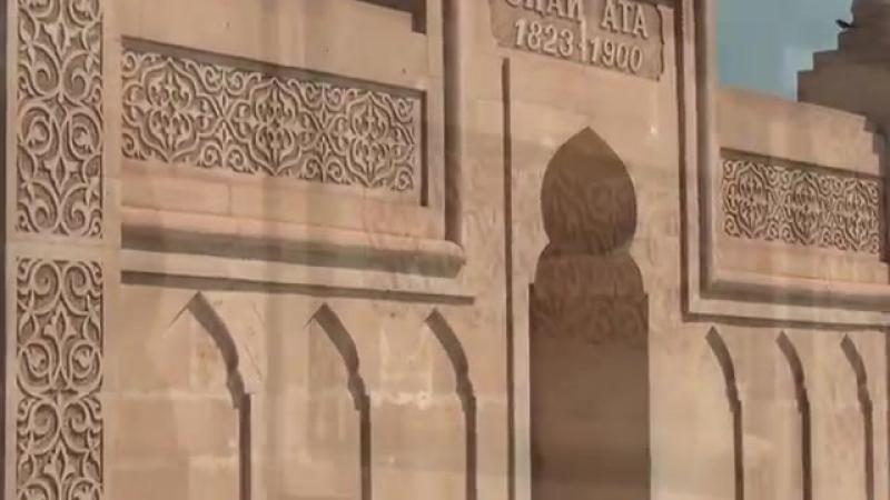 Ысық ата мемориалдың салтанатты ашу рәсімі (Атырау, Доссор, 27 маусым 2015)