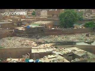 Наводнение в Карачи (Пакистан)