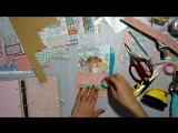 Tutorial МК- личный дневник для девочки+шкатулка Photo play paper⁄ Paper dolls