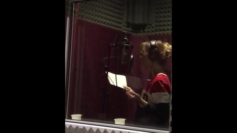 Бэк с записи аудиорекламы для ольгагринюккраснодар